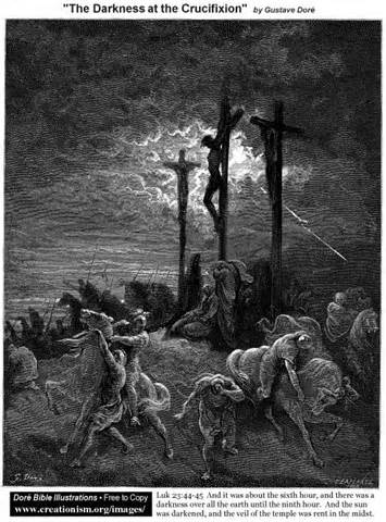 darkness at Christ's death – Andy Wrasman