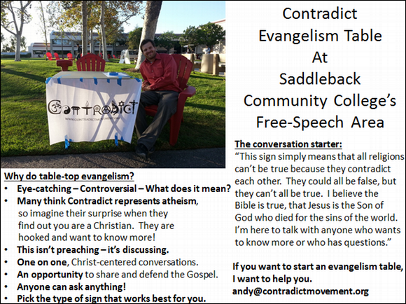 table evangelism