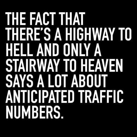highway vs. stairway