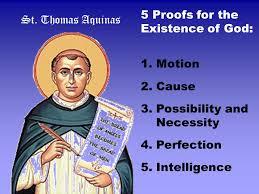thomas aquinas five ways of proving gods existence